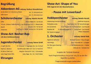 HHC-Jahresfeier @ Gemeindehalle Hessigheim